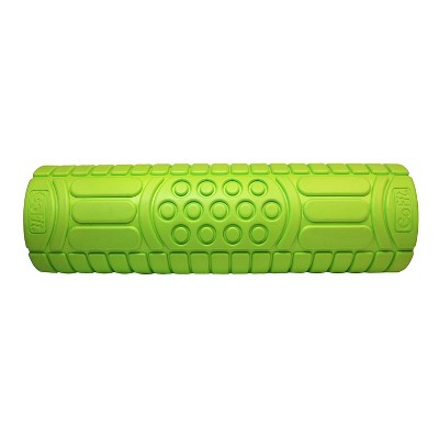 GoFit® 18  Massage Roller - Lime Green