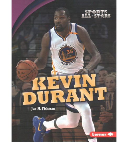 Kevin Durant -  (Sports All-Stars) by Jon M. Fishman (Paperback) - image 1 of 1