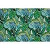 "25"" Aruba Jungle Floor Pillow Blue - Pillow Perfect - image 2 of 2"