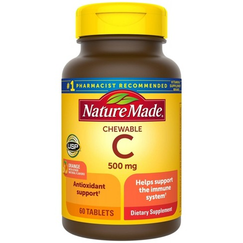 Nature Made Chewable Vitamin C 500 mg Tablets - 60ct - image 1 of 4