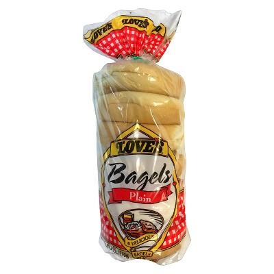 Love's Plain Bagels - 20oz/6ct