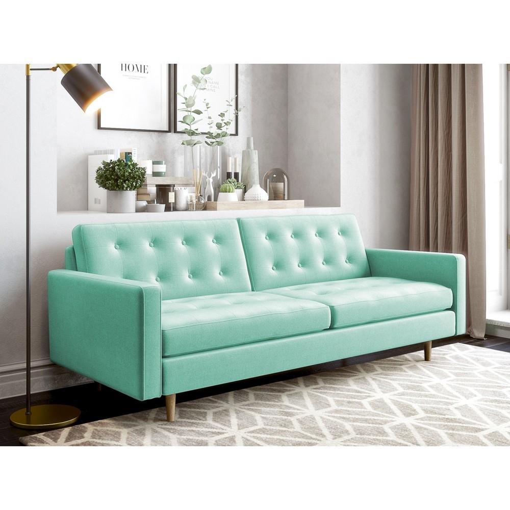 Ida Modern Sofa Mint Green - AF Lifestyle