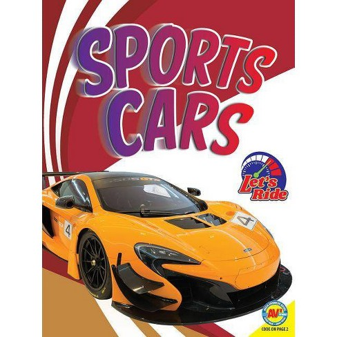 Sports Cars - (Let's Ride) by  Wendy Hinote Lanier (Paperback) - image 1 of 1