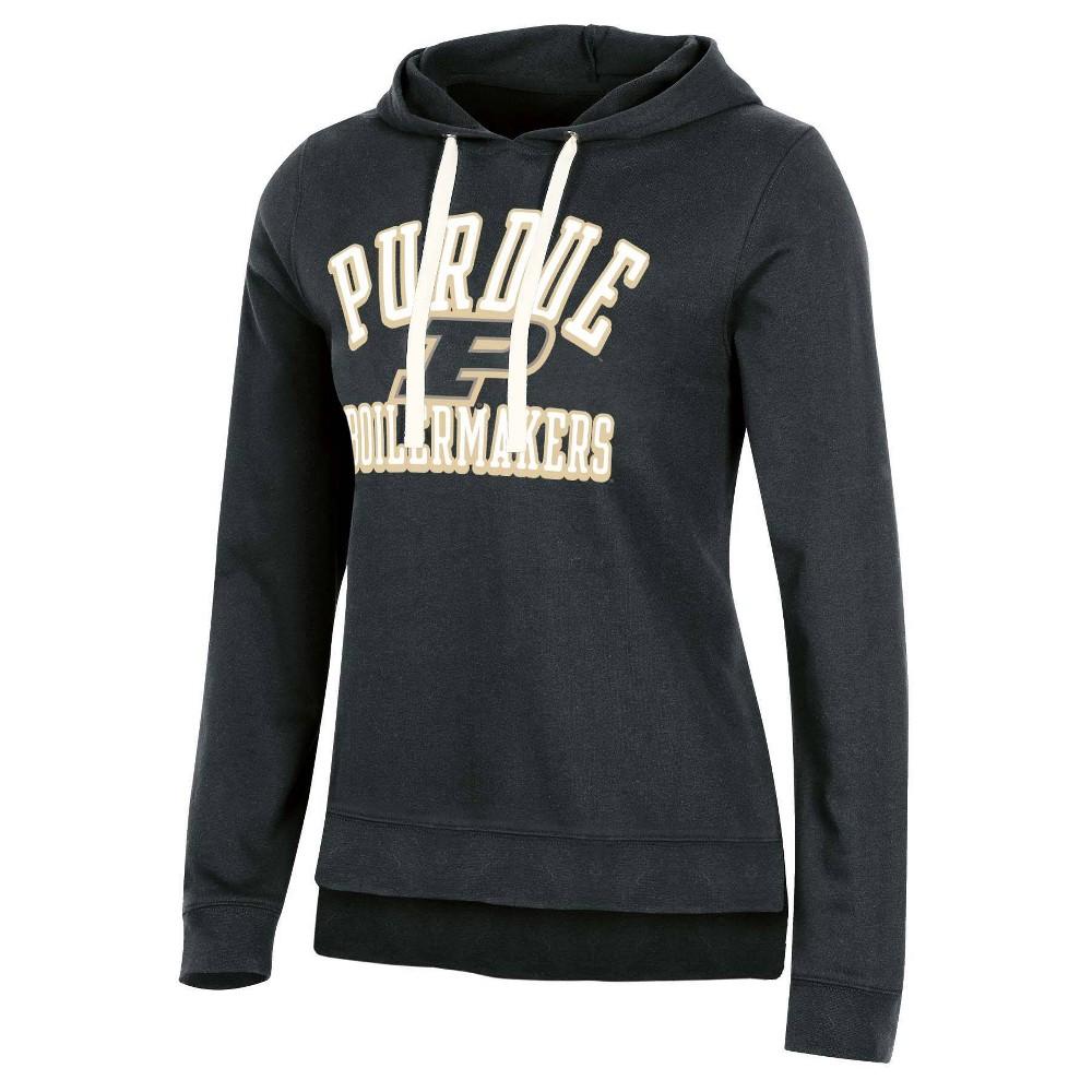 Ncaa Purdue Boilermakers Women 39 S Fleece Hooded Sweatshirt Xl
