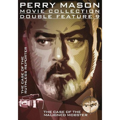Perry Mason Double Feature: The Case of the Ruthess Reporter / Maligned Mobster (DVD)(2014)