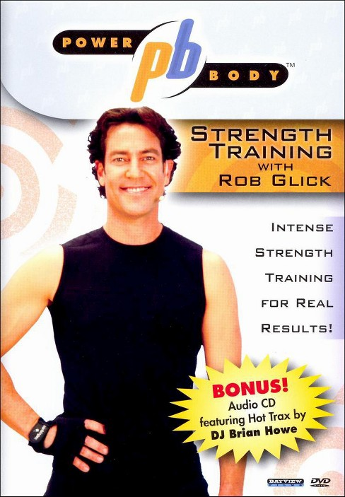Power body:Strength training with rob (DVD) - image 1 of 1