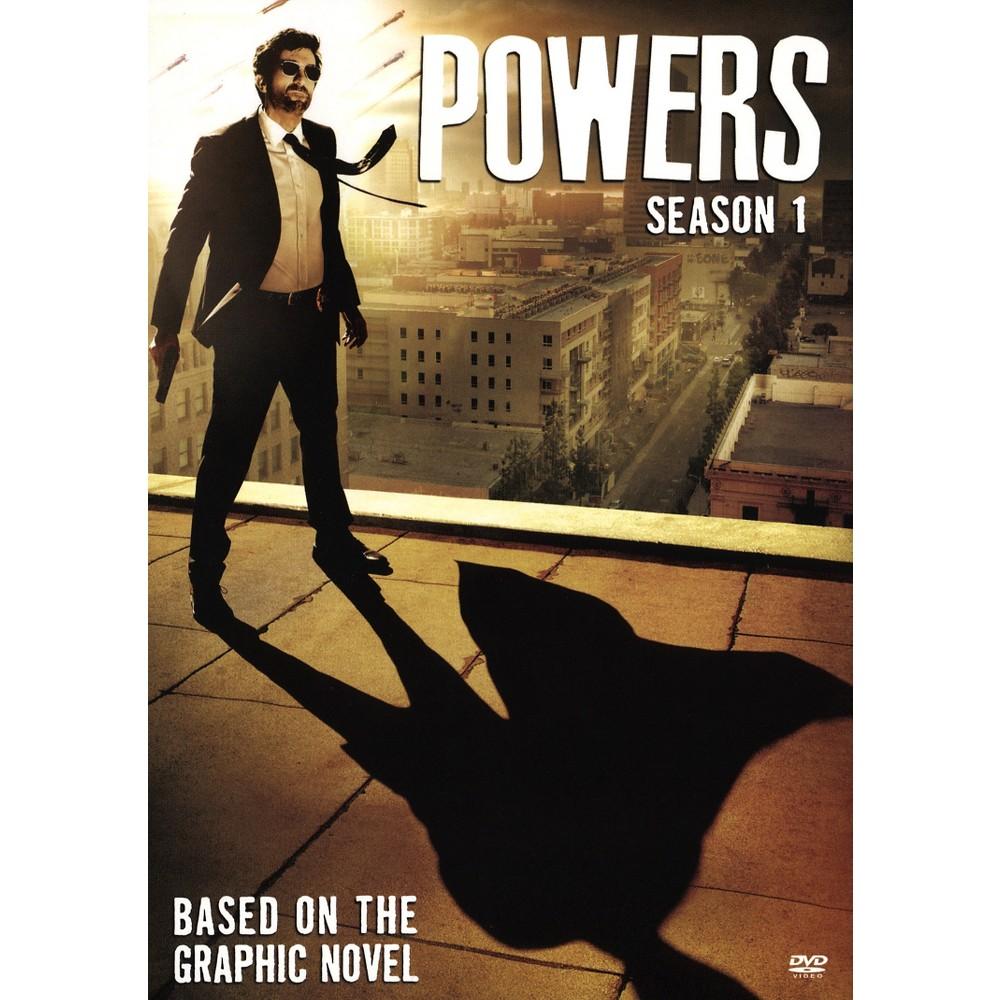 Powers Season One (Dvd), Movies