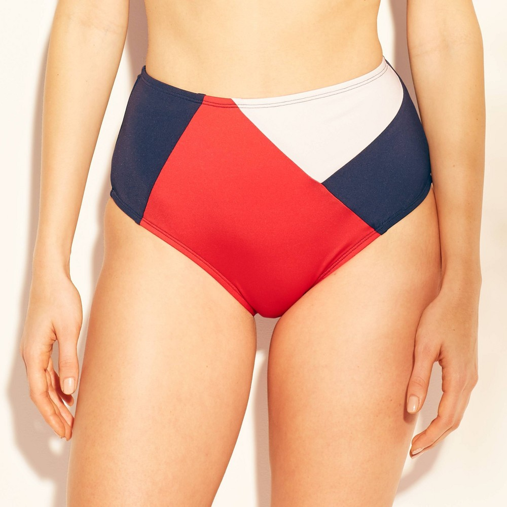 050be7904b ... a bold and bright statement for your next beach day with the Full  Coverage High Waist Bikini Bottom from Kona Sol. This mix and match swim  bottom offers ...