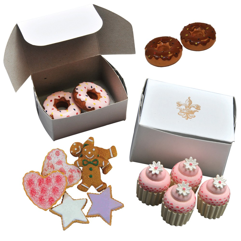18 In Doll Bakery Pastry Shop Accessories