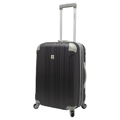 """Beverly Hills Country Club Newport 24"""" Hardside Spinner Suitcase - Gray"""