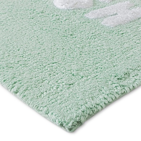 Tufted You Look Awesome Bath Rugs And Mats Mint Green Room