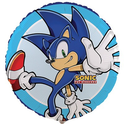 Birthday Express Sonic The Hedgehog Party Supplies - Foil Balloons (2)