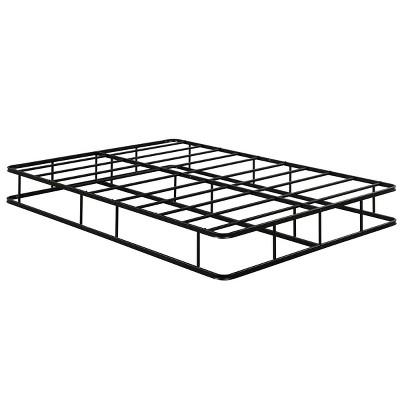 9 Inch Platform Low Profile Bed Frame Steel Slat Mattress Foundation Full Size