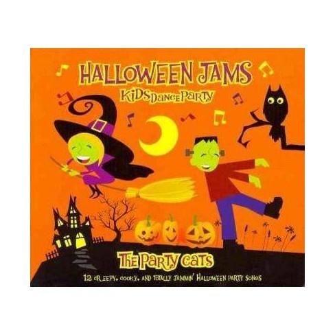 Party Cats - Halloween Jams Kids Dance Party (digipak) (CD) - image 1 of 2