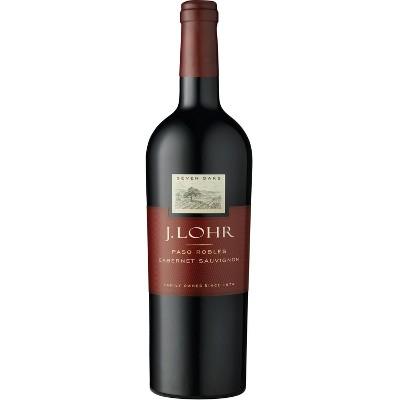 J. Lohr Seven Oaks Cabernet Sauvignon Red Wine - 750ml Bottle