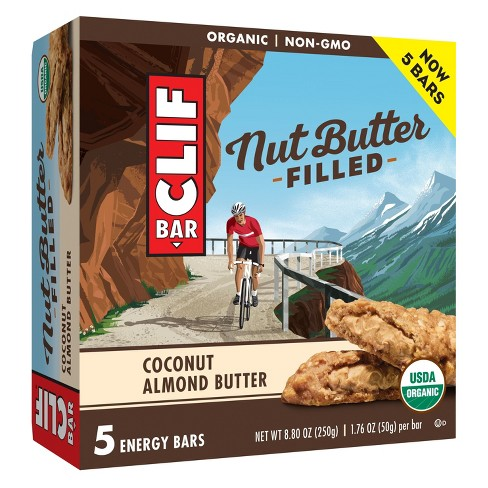 CLIF Bar Coconut Almond Butter Filled Energy Bars - 8.8oz - image 1 of 3