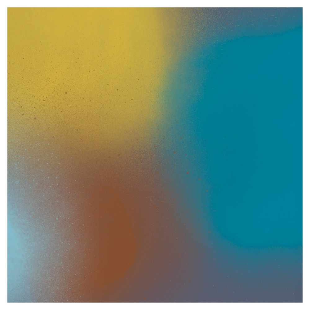 Shifting Hues 1 Unframed Wall Canvas Art - (16X16), Multi-Colored