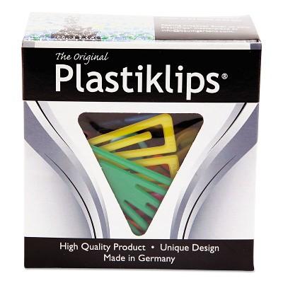 Baumgartens Plastiklips Paper Clips Small Assorted Colors 1 000/Box LP0200