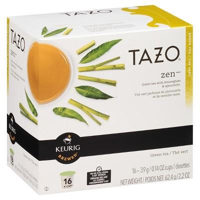 Tazo Zen Tea - Keurig K-Cup Pods - 16ct