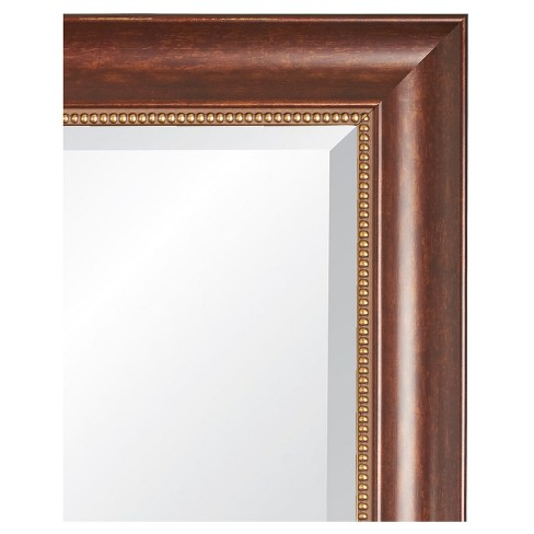 Rectangle Lorrain Decorative Wall Mirror With Cherrywood Frame Alpine Art And Miror Target