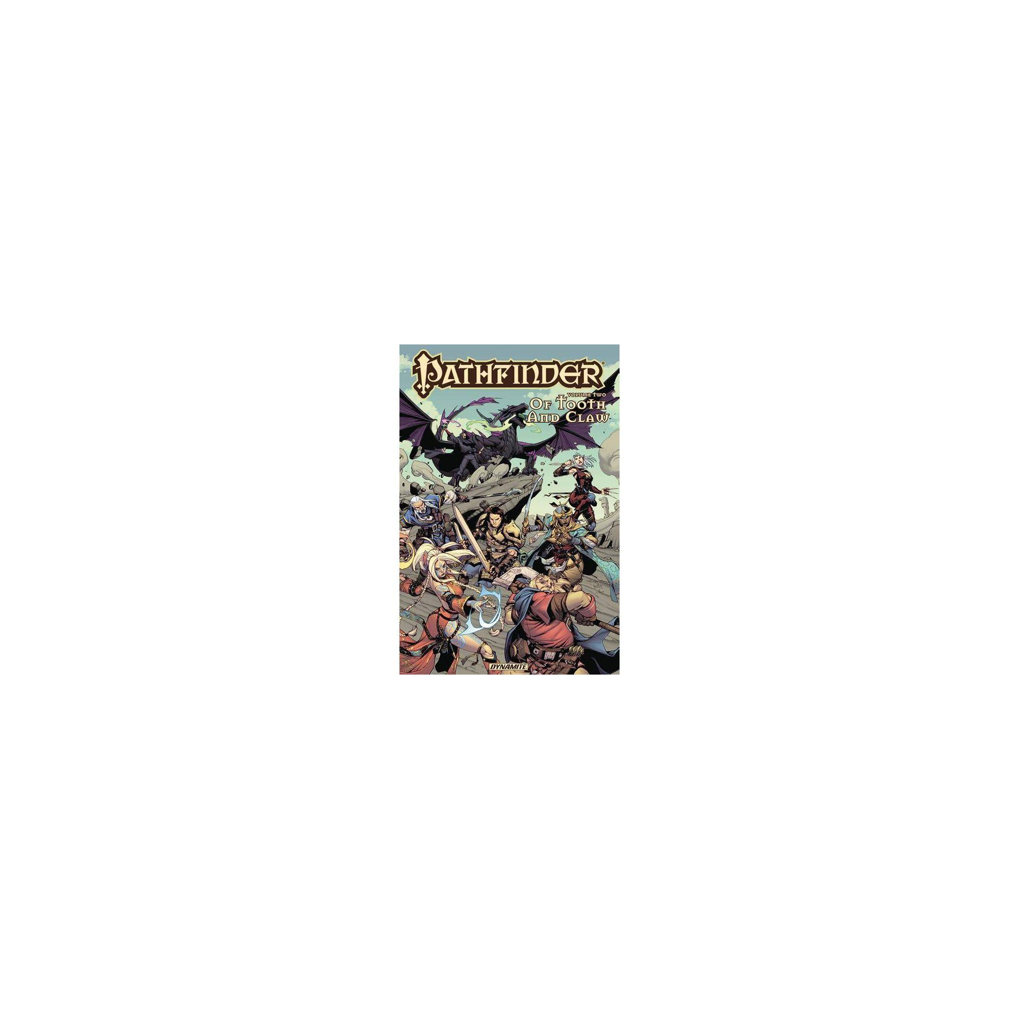 Pathfinder Vol. 2: Of Tooth & Claw Tpb - by Jim Zub (Paperback)