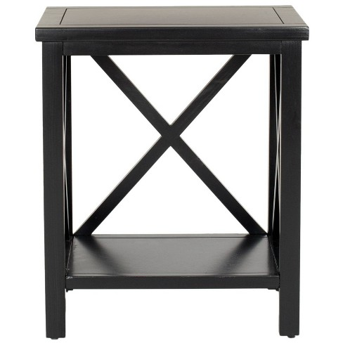 Candace End Table Black - Safavieh - image 1 of 4