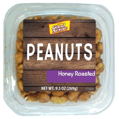 Good Sense Honey Roasted Peanuts - 9.5oz