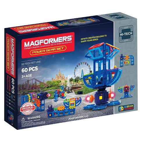 Magformers Power Gear 60 PC Set - image 1 of 4
