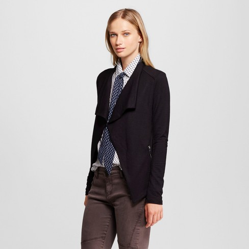 Women's  Jacket Black S - Mossimo™ - image 1 of 2