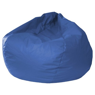 Leather Look Bean Bag Chair - Gold Medal