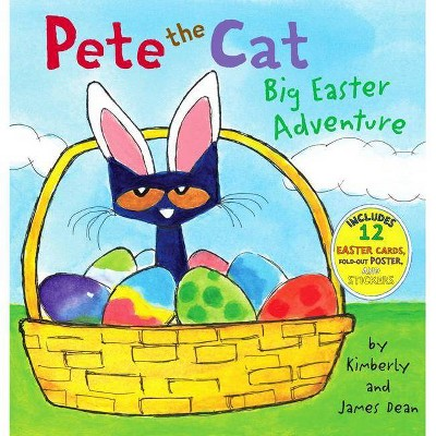 Big Easter Adventure (Pete the Cat Series) (Mixed Media Product) (Hardcover) by James Dean and Kimberly Dean