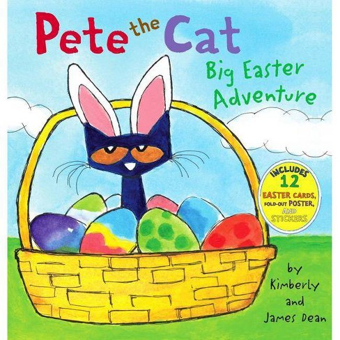 Big Easter Adventure (Pete the Cat Series) (Mixed Media Product) (Hardcover) by James Dean and Kimberly Dean - image 1 of 2