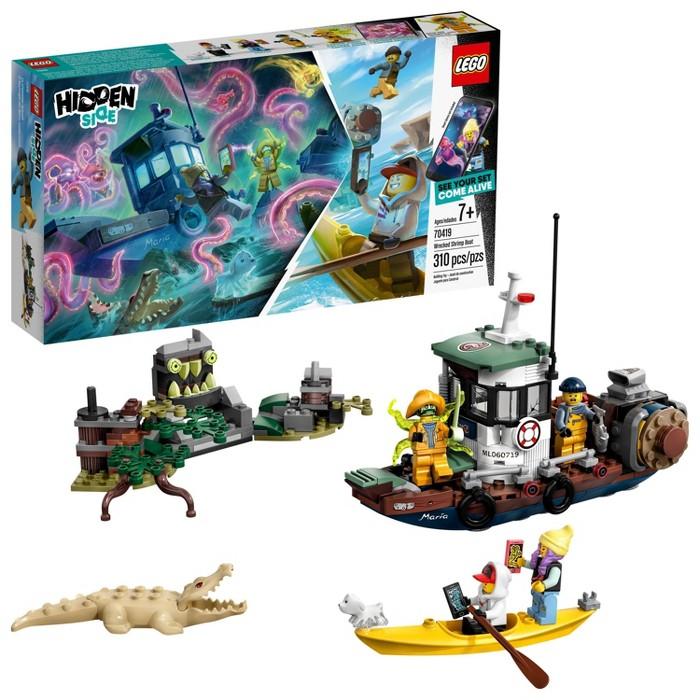 LEGO Hidden Side Wrecked Shrimp Boat 70419 - image 1 of 7