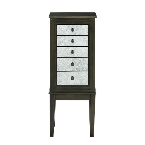 Phoebe Jewelry Armoire Dusk Shimmy - Powell Company - image 1 of 4