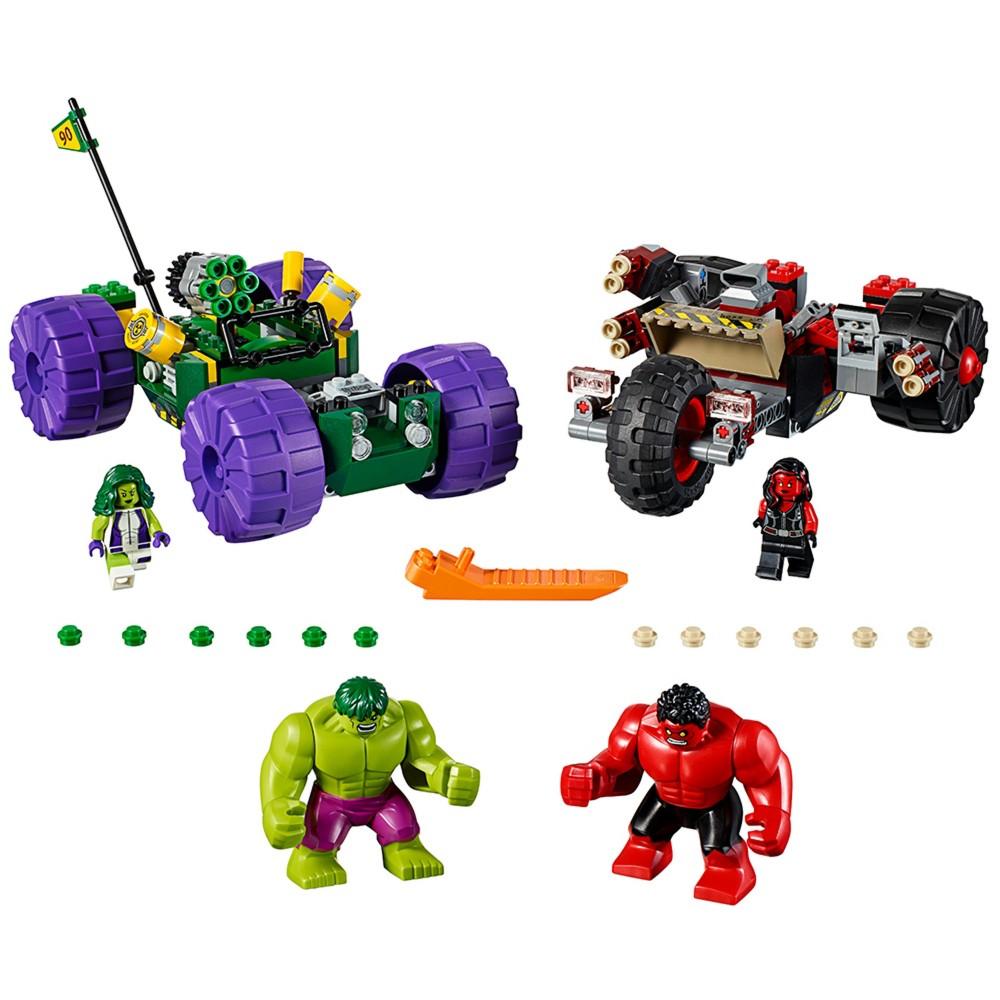 Lego Super Heroes Hulk vs. Red Hulk 76078