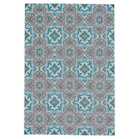 Harlow Rug - Sea Glass - Room Envy - image 1 of 3