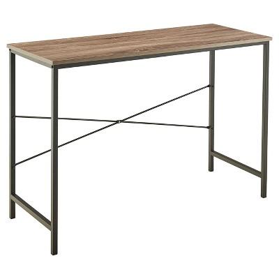 Desk Mixed Material - Gray - ClosetMaid