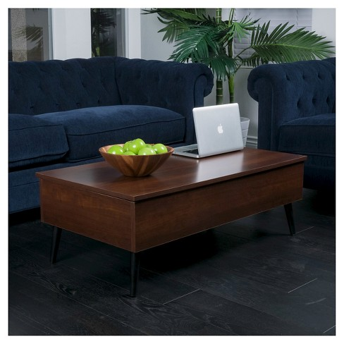 Elliot Wood Lift Top Storage Coffee Table Christopher Knight Home Target
