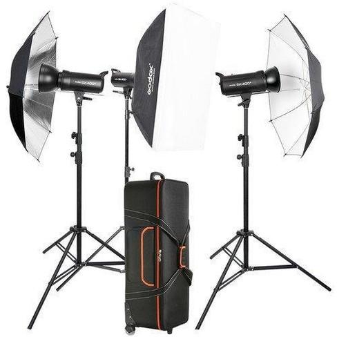Godox Mini LED Photography Studio Shooting Tent 80x80x80cm LSD80 2PCS LED lamp Band Power 40W 10000~11000 Lumen with Carry Bag