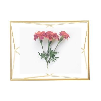 "4"" x 6"" Prisma Photo Display Frame Matte Brass - Umbra"