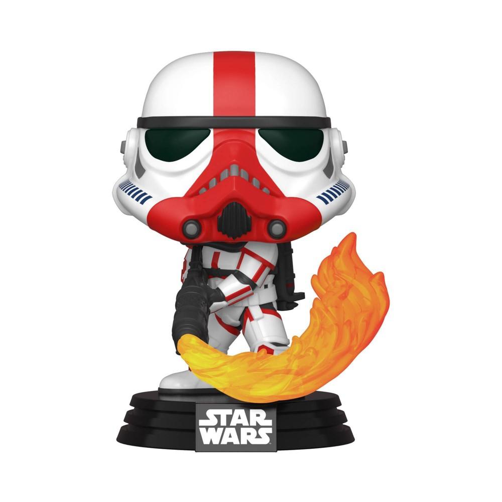 UPC 889698455428 product image for Funko POP! Star Wars: The Mandalorian - Incinerator Stormtrooper | upcitemdb.com