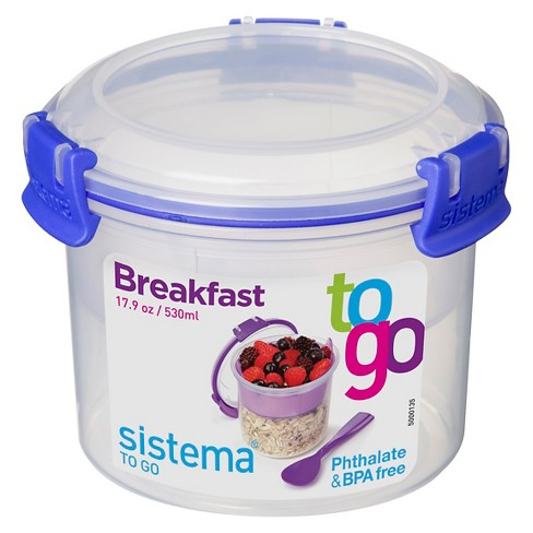 Sistema Breakfast To Go 17.9oz - image 1 of 3