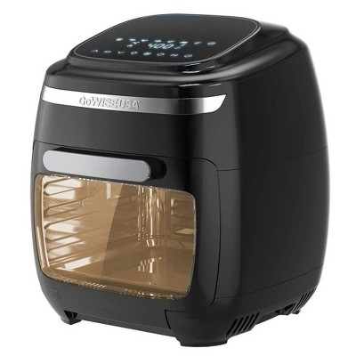GoWISE Vibe 11.6-Quart Air Fryer Toaster Oven w/ Rotisserie & Dehydrator, Black