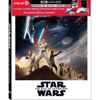Star Wars: The Rise of Skywalker (Target Exclusive) (4K/UHD)