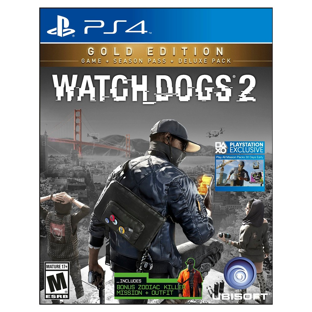 Watch Dogs 2 Gold Edition PlayStation 4