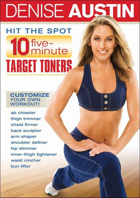 Denise Austin: Hit the Spot - 10 Five Minute Target Toners - image 1 of 1