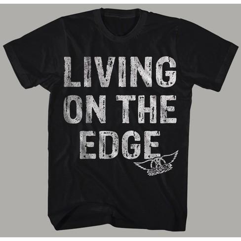 393915cd4f Men's Aerosmith Short Sleeve Graphic T-Shirt - Black : Target