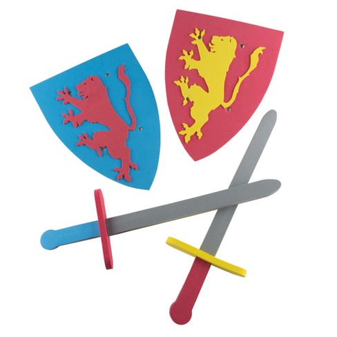 Hey! Play! Kids Foam Sword and Shield - image 1 of 5