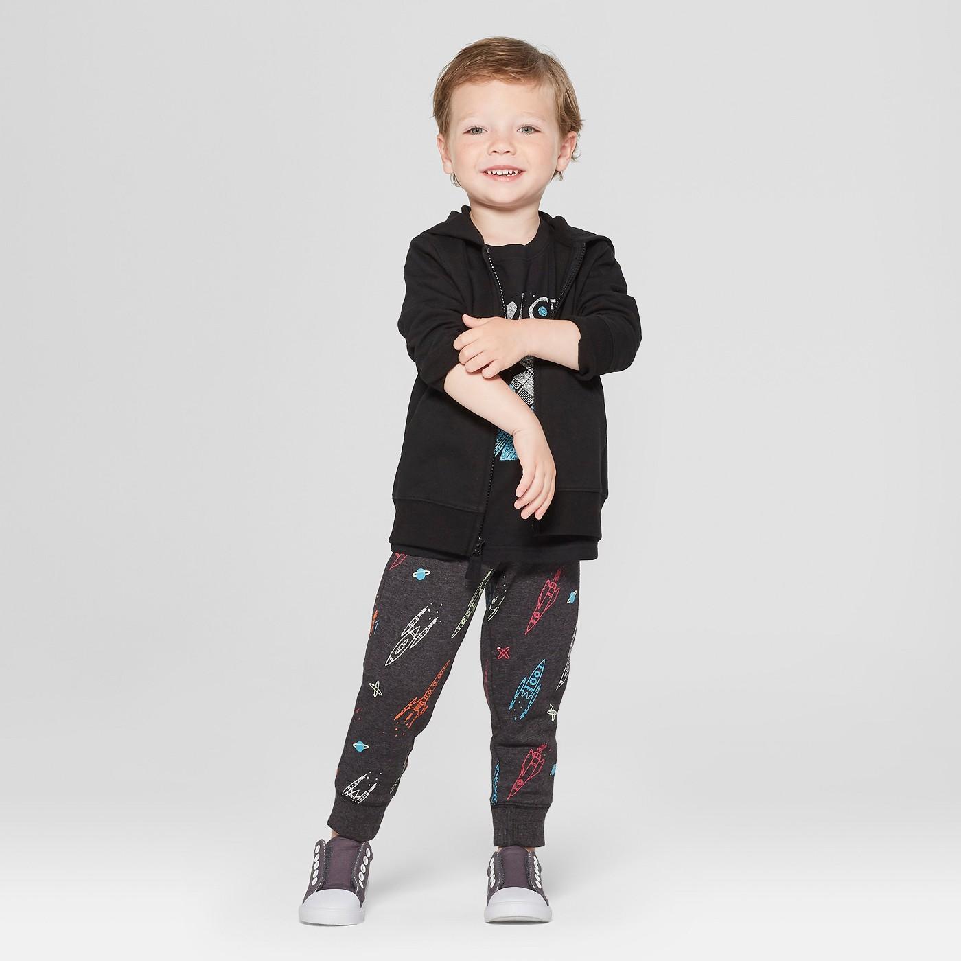 Toddler Boys' Jogger Spaceship Pants - Cat & Jack™ - image 3 of 3