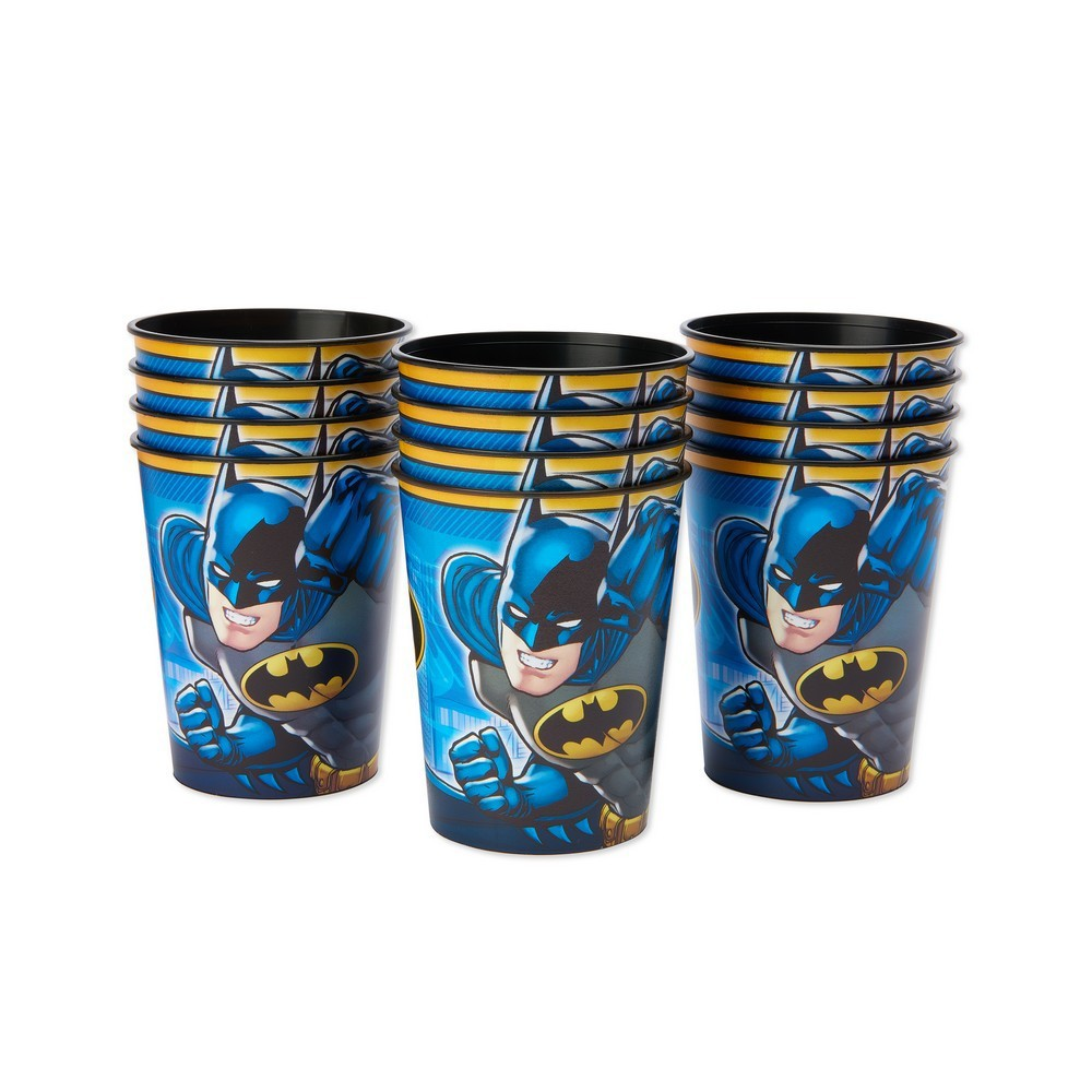 Image of 12ct Batman Plastic Party Cups